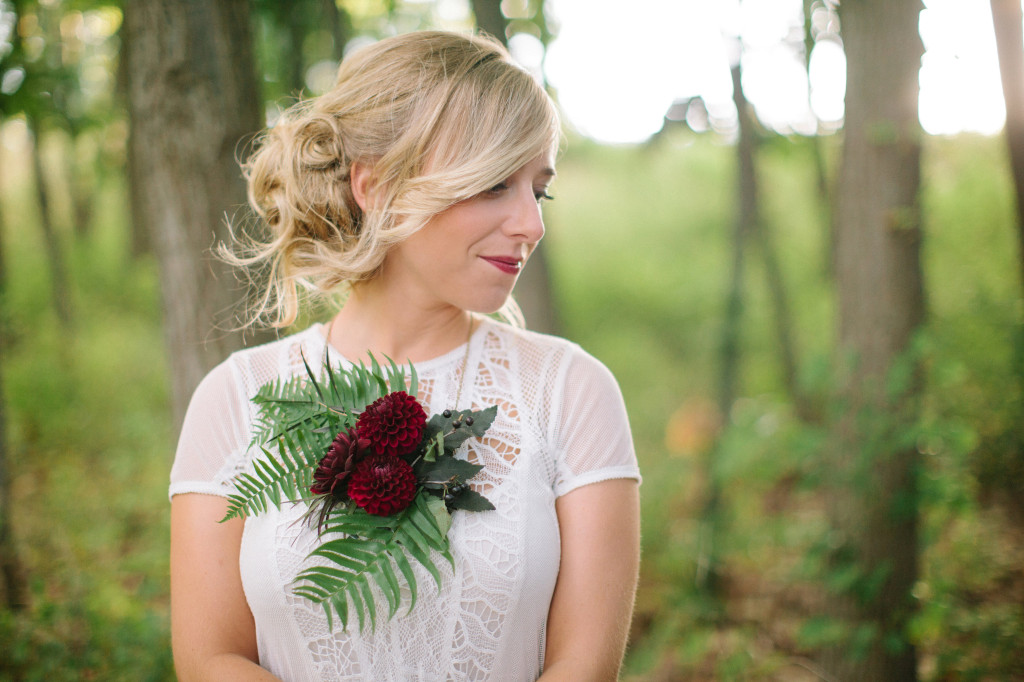 Wedding Floral Necklace 2