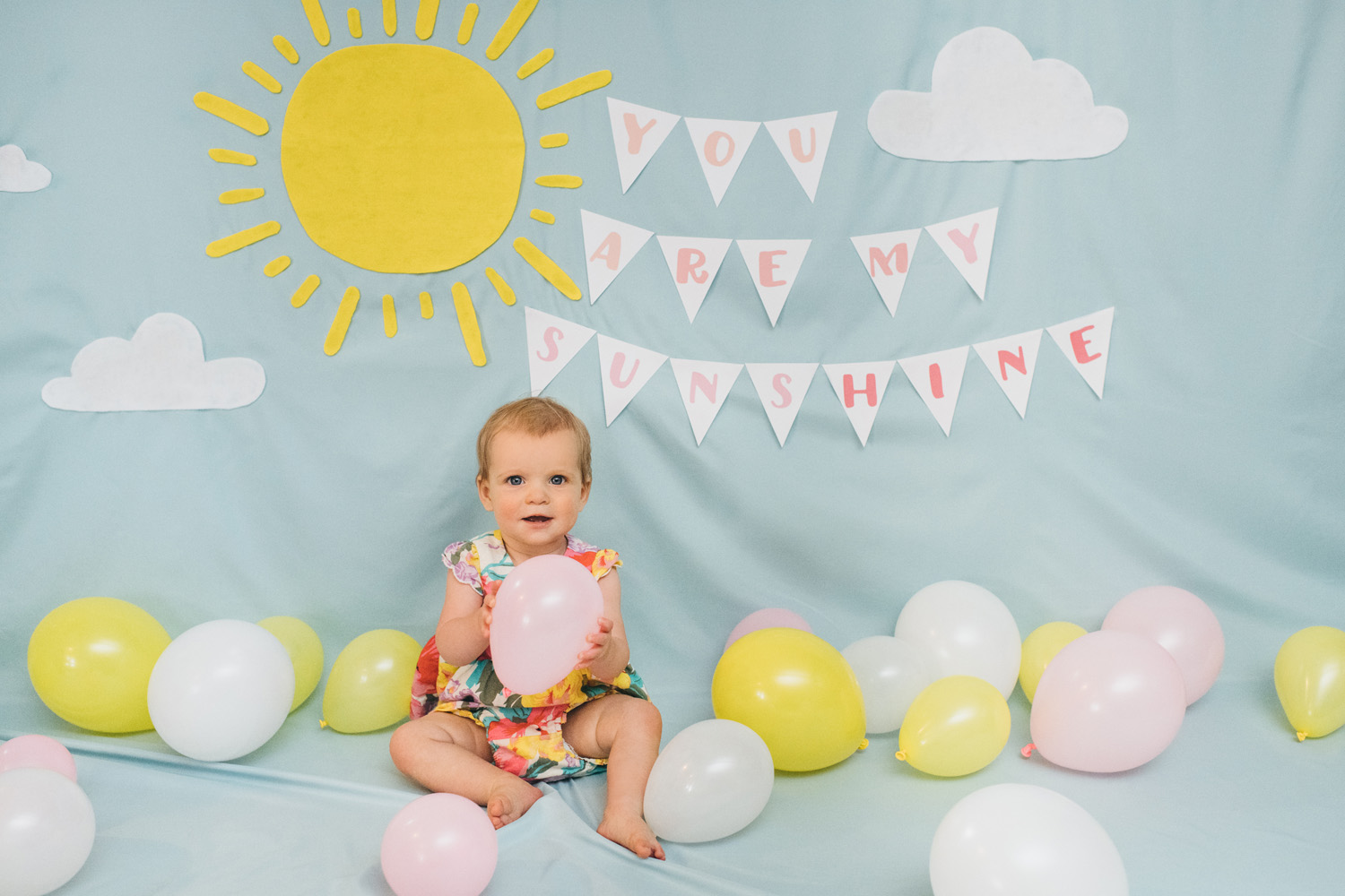 you are my sunshine 1st birthday party