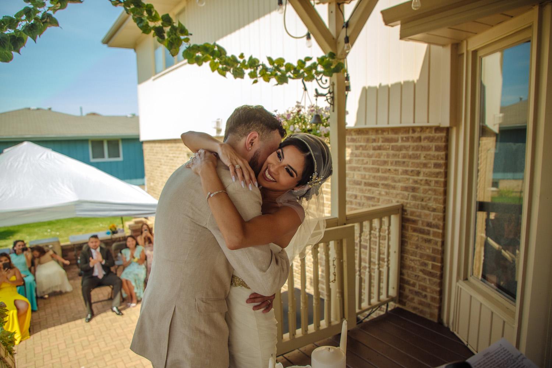 outdoor backyard summer intimate weddings