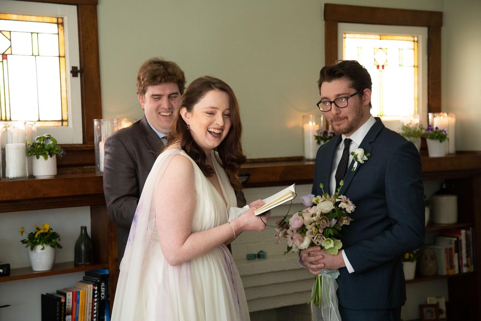 intimate wedding mini wedding zoom wedding home wedding chicago