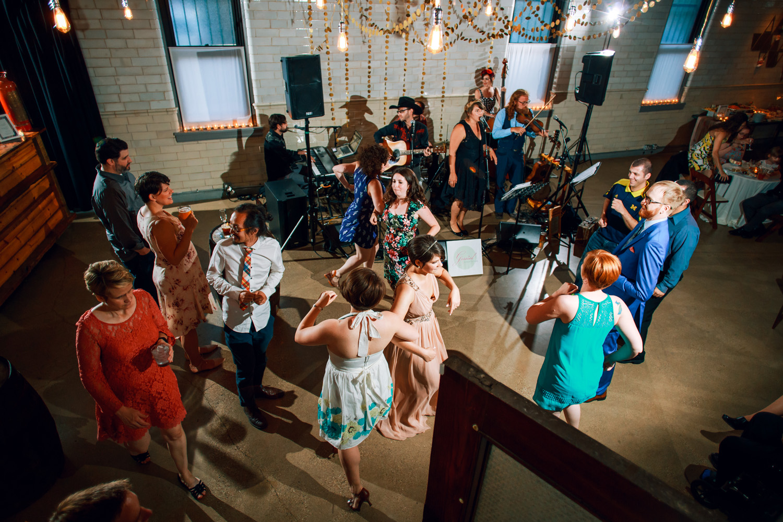 intimate weddings have packed dance floors wedding band
