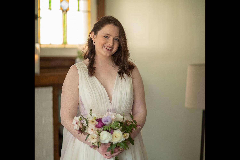 bridal bouquet home wedding spring wedding