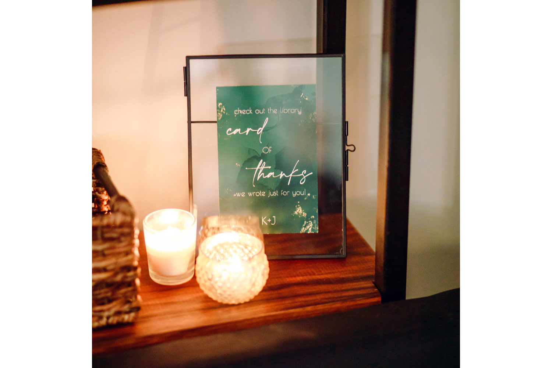 intimate weddings surprise wedding reception