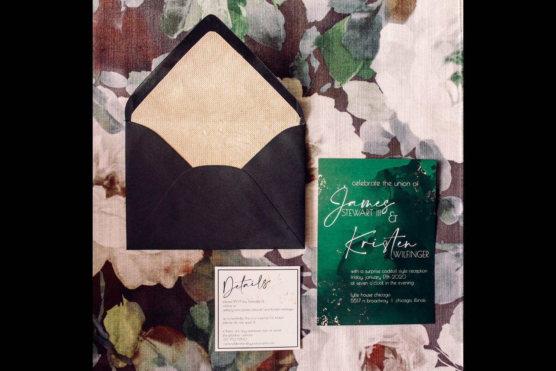 intimate weddings surprise wedding invitation