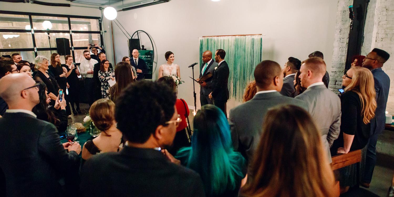 intimate weddings surprise wedding ceremony