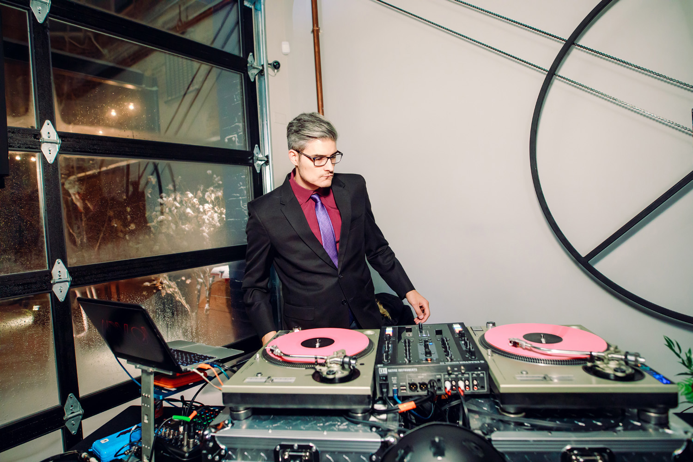 intimate weddings surprise wedding reception dj music