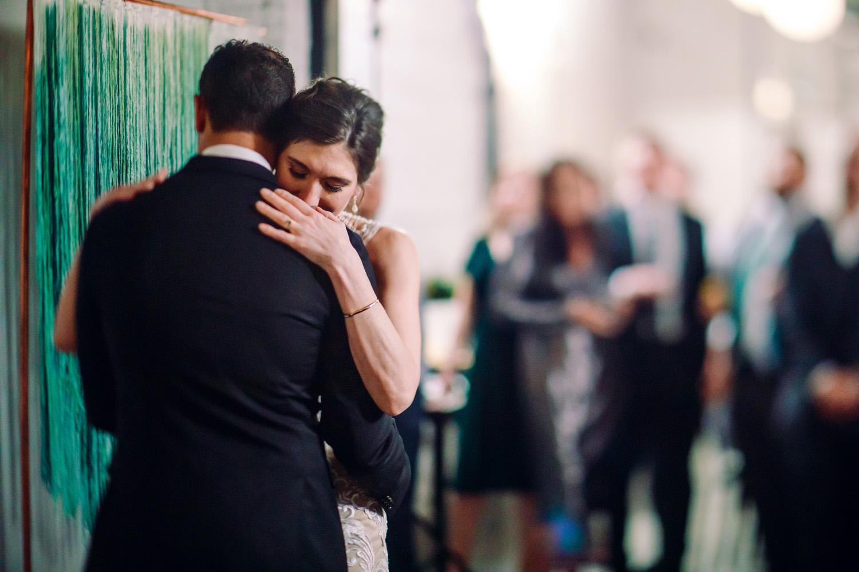 intimate weddings surprise wedding reception first dance