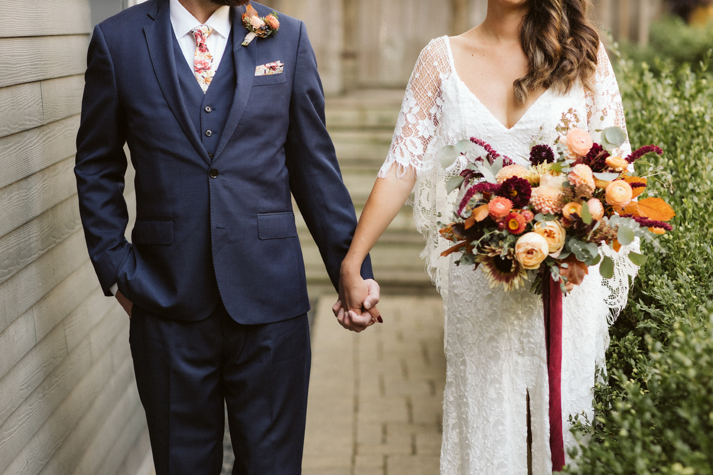 bride and groom portrait wedding photography