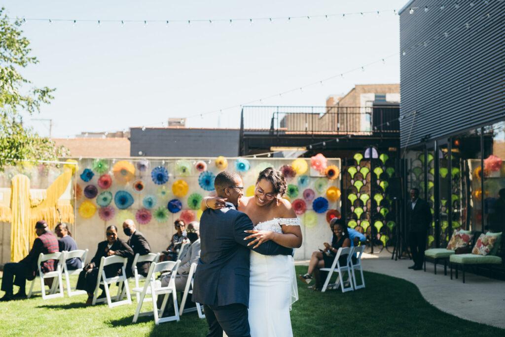 intimate wedding reception chicago